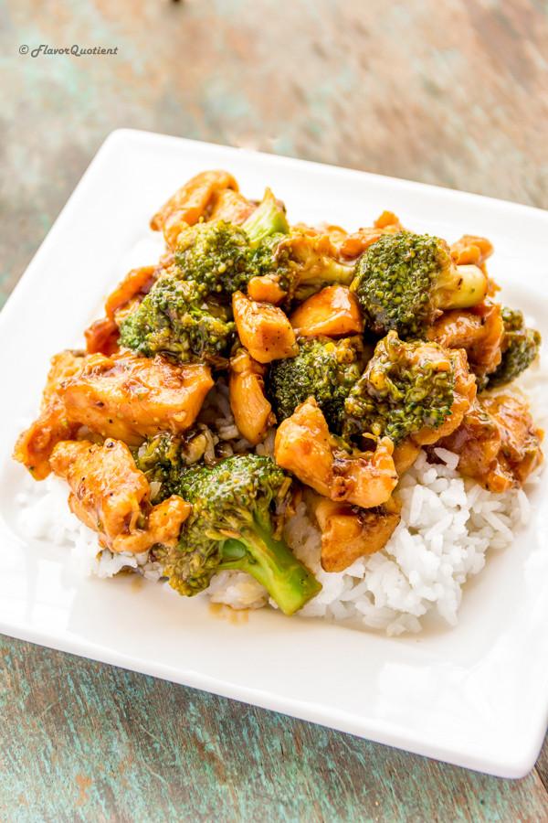 Healthy Chicken And Broccoli Stir Fry  Healthy Chicken and Broccoli Stir Fry Flavor Quotient