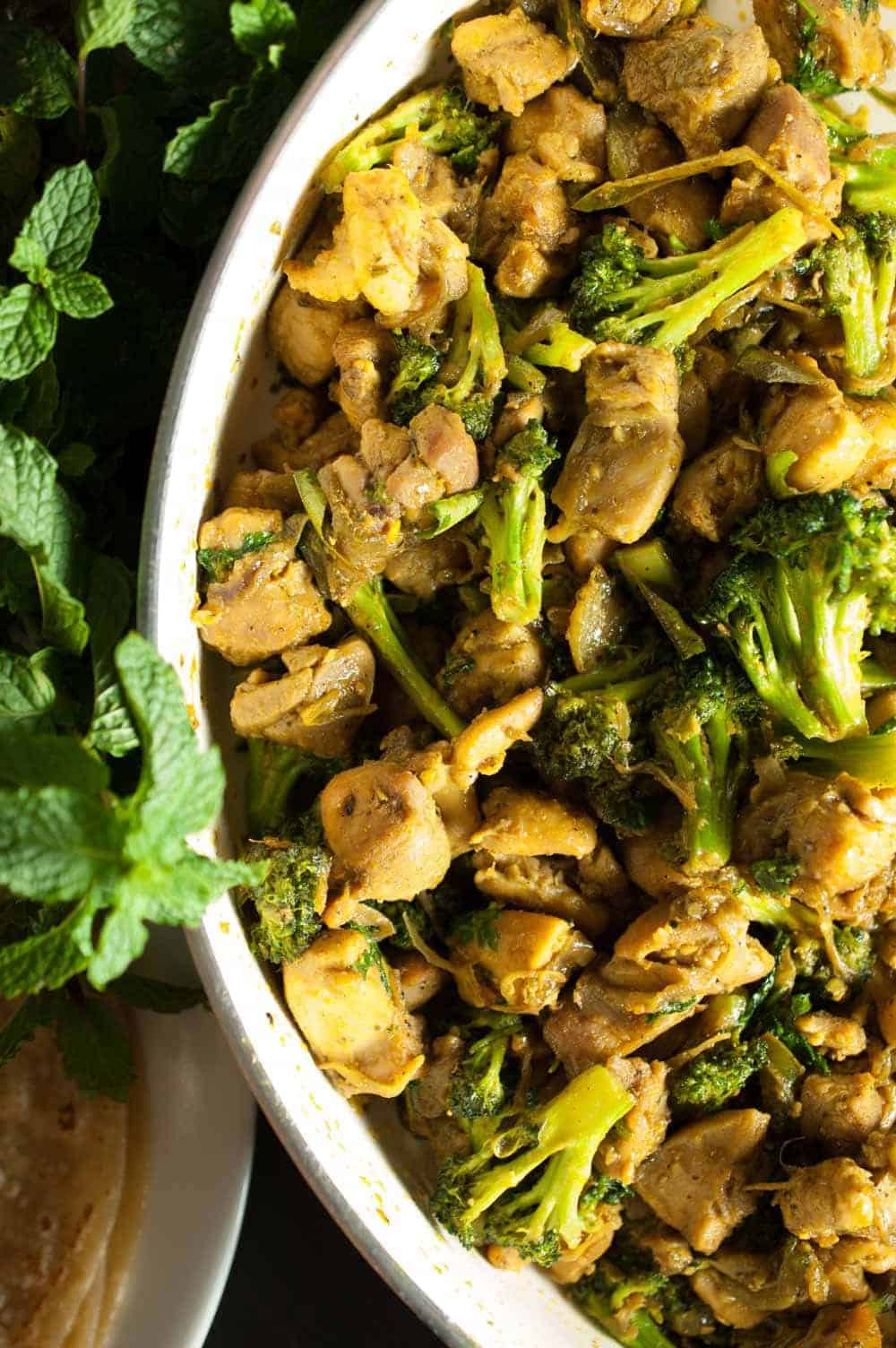 Healthy Chicken And Broccoli Stir Fry  Indian Healthy Chicken and Broccoli Stir Fry Recipe
