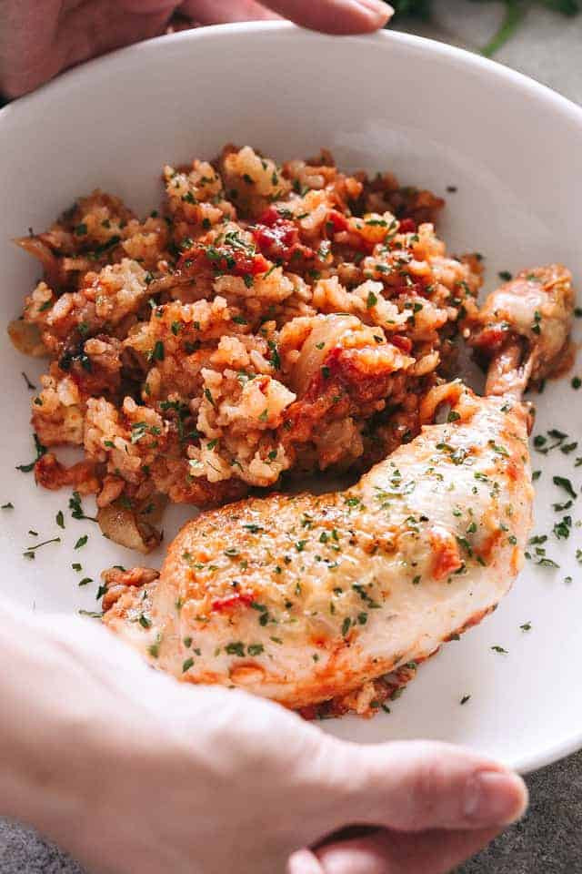 Healthy Chicken And Brown Rice Recipes  Slow Cooker Chicken & Rice