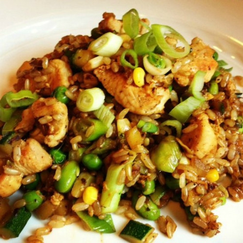 Healthy Chicken And Brown Rice Recipes  Bodybuilding Healthy Brown Rice With Chicken And