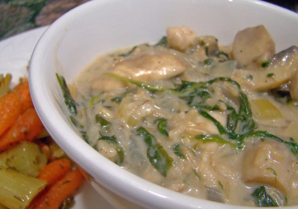 Healthy Chicken And Mushroom Casserole  Easy Chicken And Mushroom Casserole Recipe Healthy Food