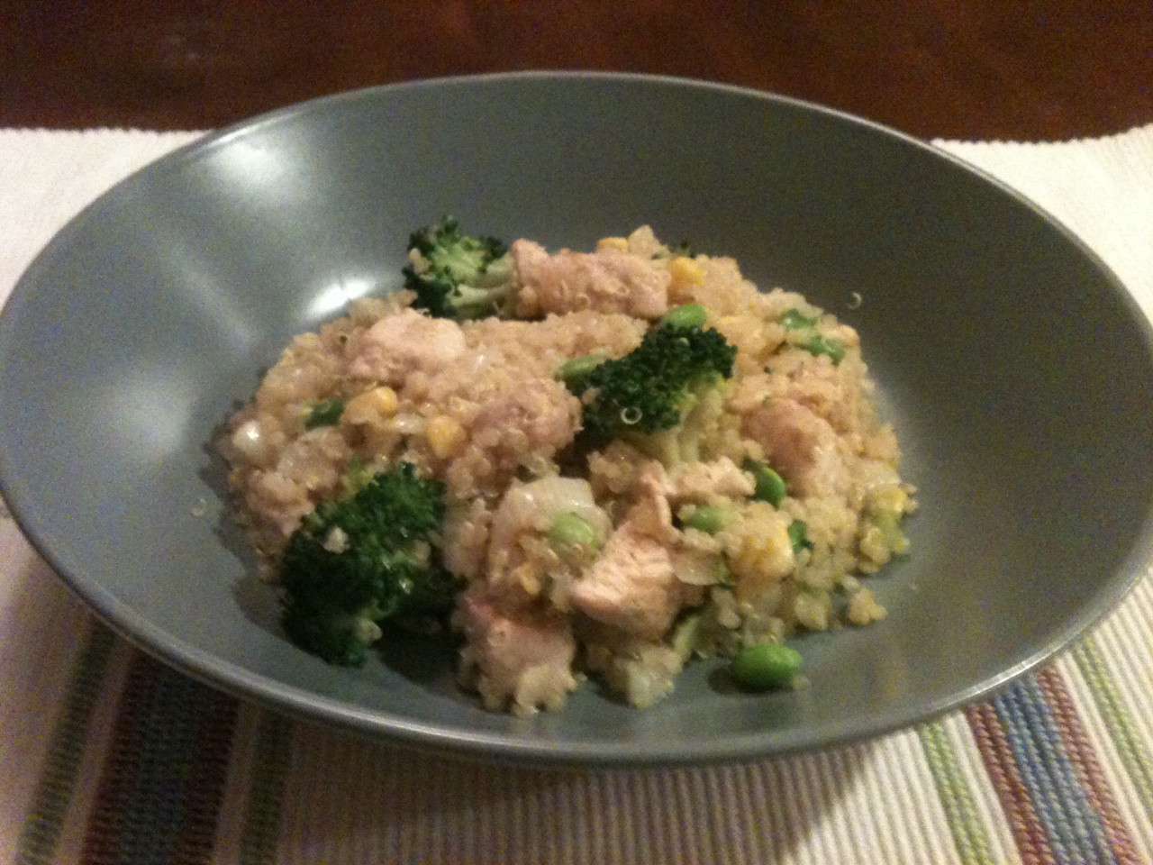 "Healthy Chicken And Quinoa Recipes  Healthy Chicken ""Fried"" Quinoa Recipe 9"