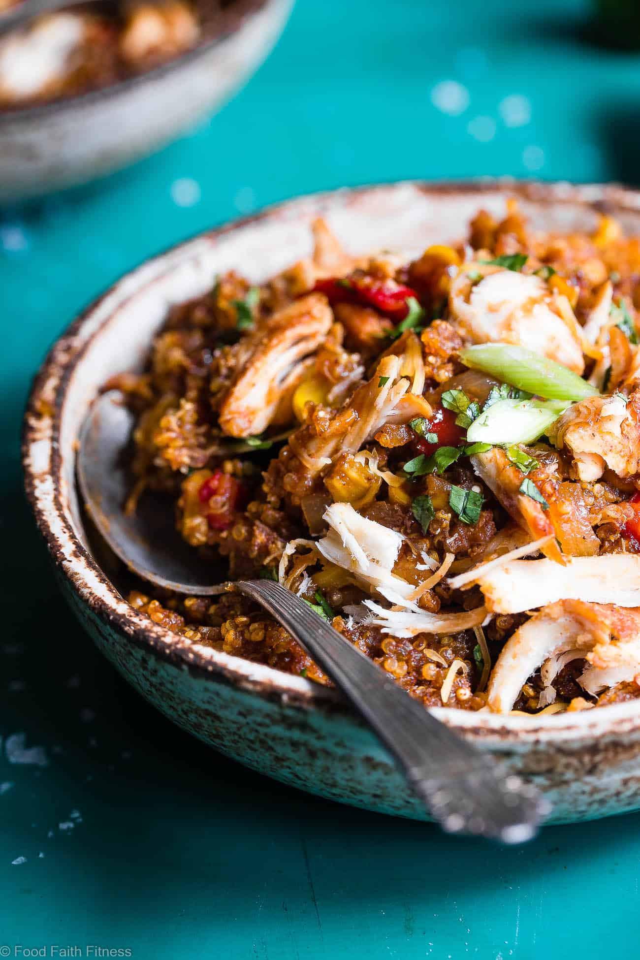Healthy Chicken And Quinoa Recipes  Healthy BBQ Chicken Quinoa Casserole