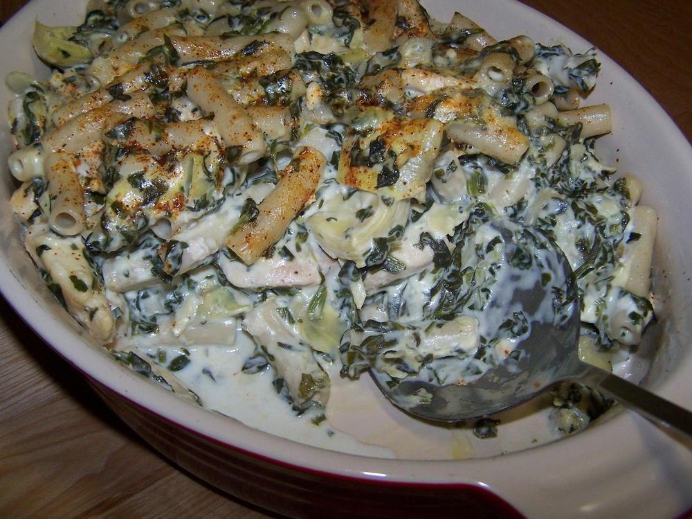 Healthy Chicken And Spinach Casserole  Spinach Artichoke Chicken Casserole