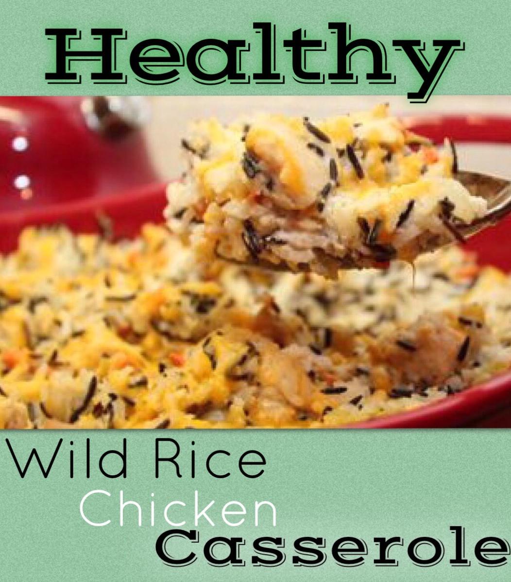 Healthy Chicken And Wild Rice Casserole  Wild Rice & Chicken Casserole Healthy Recipes