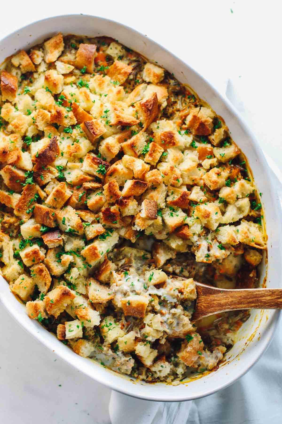 Healthy Chicken And Wild Rice Casserole  Chicken Wild Rice Casserole Pinch of Yum