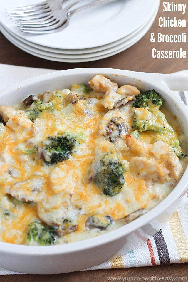 Healthy Chicken Broccoli Casserole  20 Most Popular Healthy Food Recipes on Pinterest