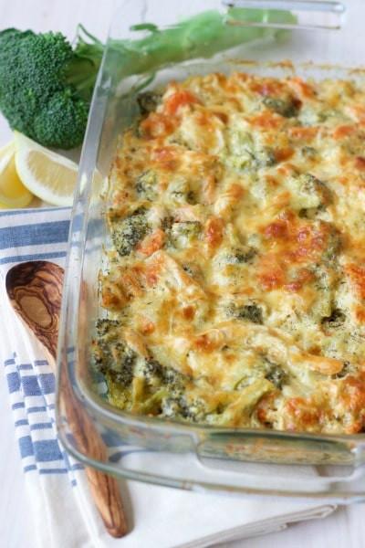 Healthy Chicken Broccoli Casserole  Healthy Chicken Broccoli Casserole Grain Free Option