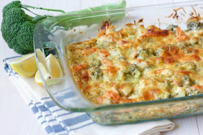 Healthy Chicken Broccoli Casserole  Healthy Chicken Broccoli Casserole