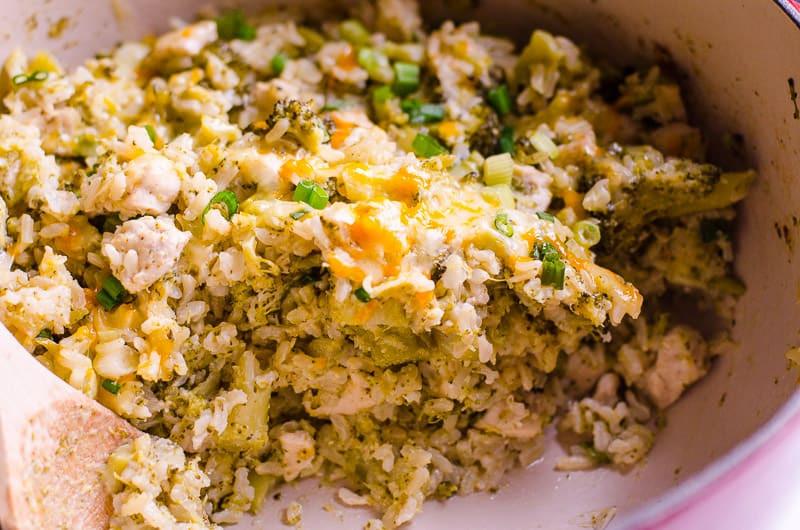 Healthy Chicken Broccoli Rice Casserole No Canned Soup  Healthy Chicken and Rice Casserole Recipe iFOODreal