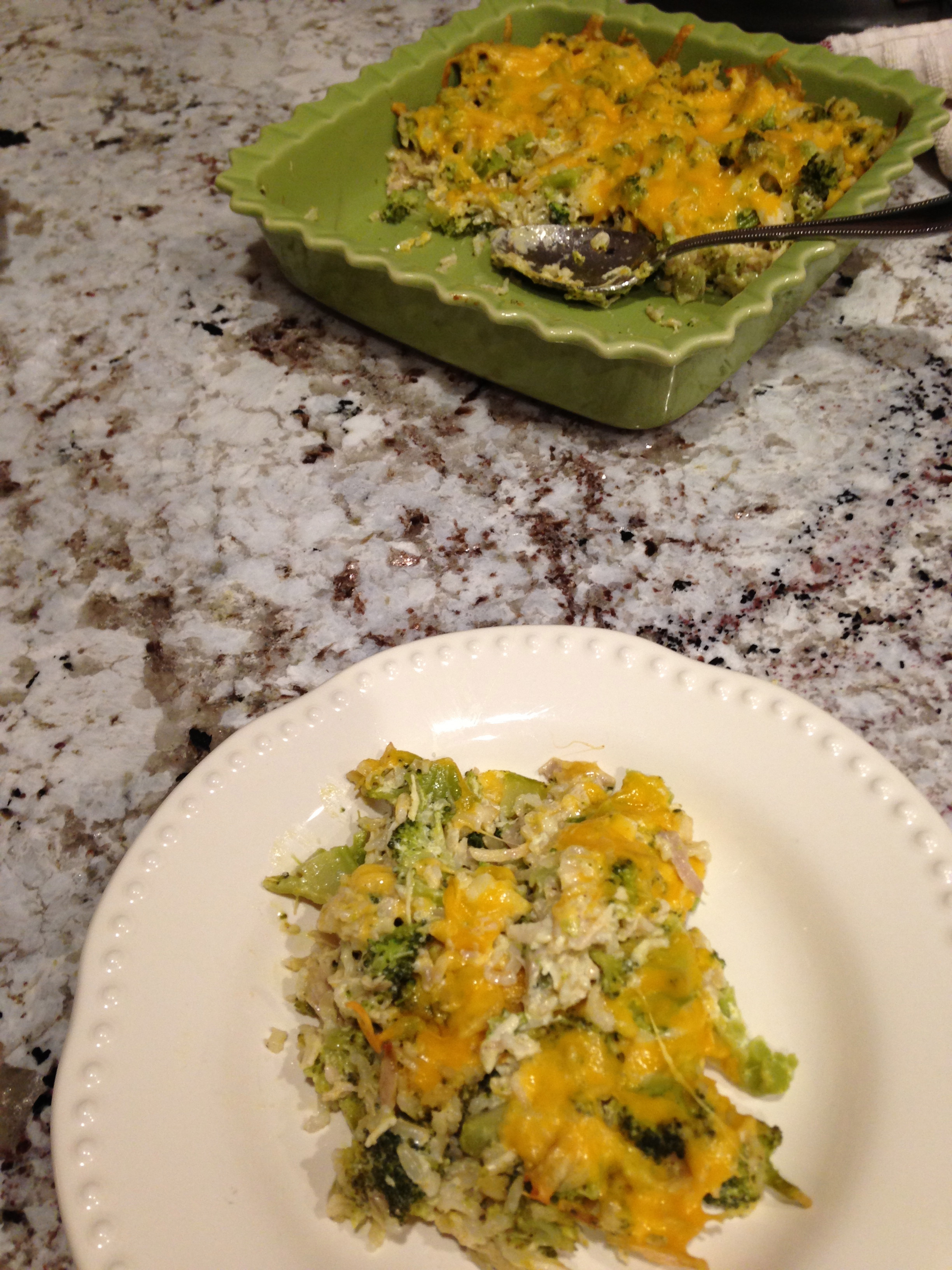 Healthy Chicken Broccoli Rice Casserole No Canned Soup  No Canned Soup Broccoli Chicken Rice Cheddar Casserole