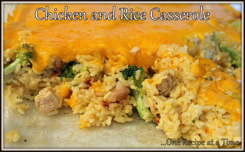 Healthy Chicken Broccoli Rice Casserole No Canned Soup  broccoli chicken rice casserole no soup