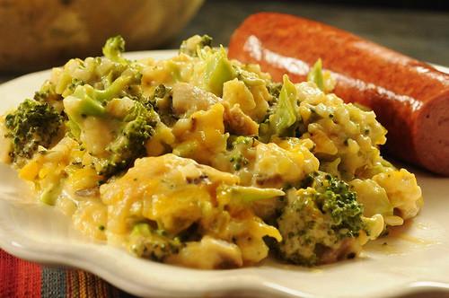 Healthy Chicken Broccoli Rice Casserole No Canned Soup  Broccoli Rice Casserole No Canned Soup