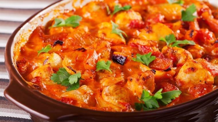 Healthy Chicken Casserole Dishes  Tower Healthy Quick Dish Rosemary Chicken Casserole