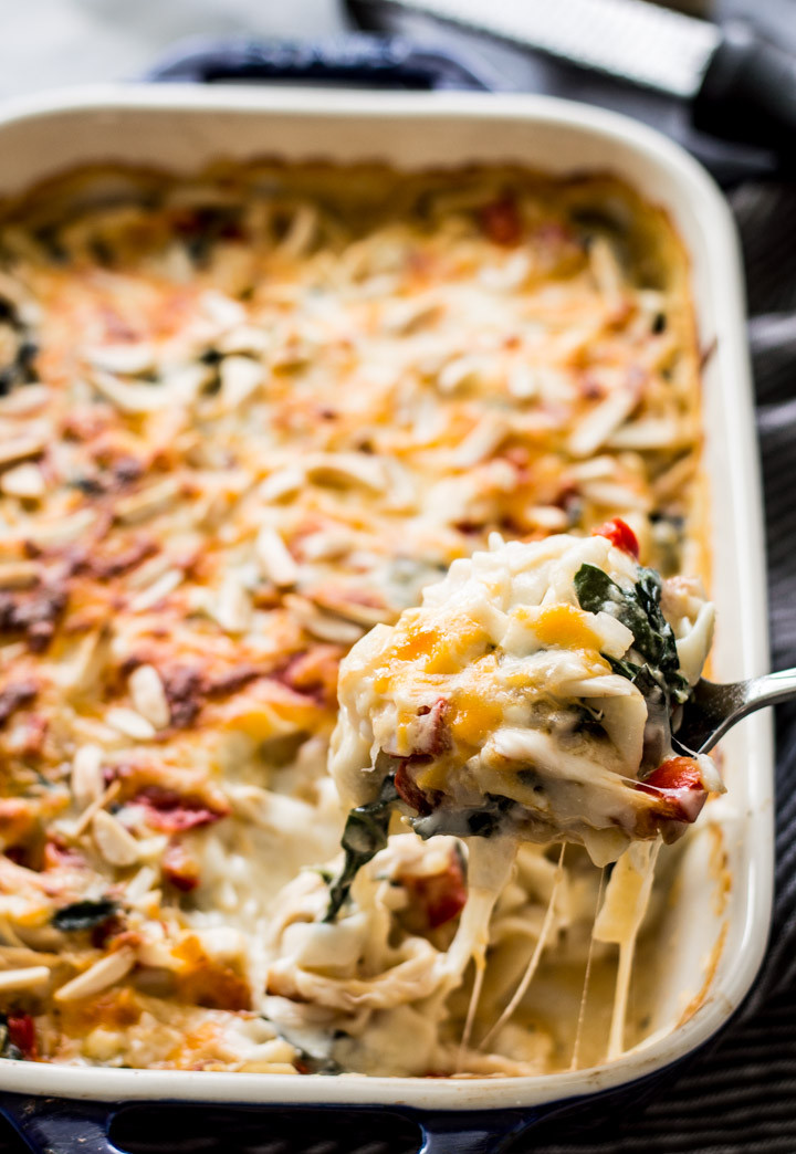 Healthy Chicken Casserole Low Carb  Low Carb Chicken Tetrazzini