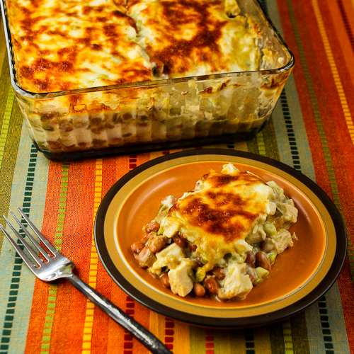 Healthy Chicken Casserole Low Carb  Low Carb Mexican Chicken Casserole