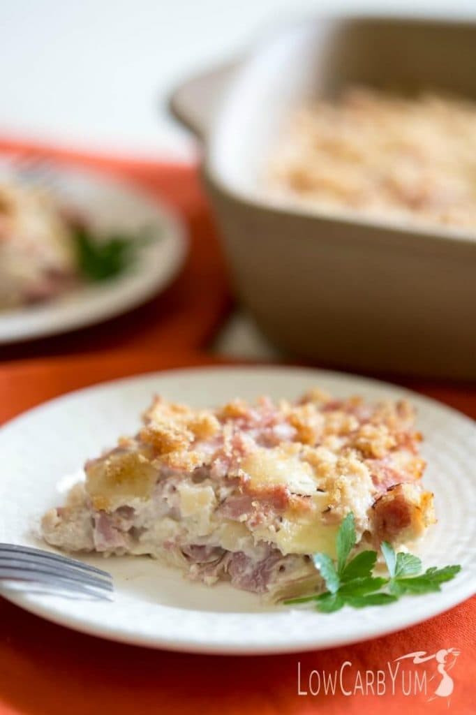 Healthy Chicken Casserole Low Carb  Hearty Low Carb Casseroles Recipe Simply So Healthy