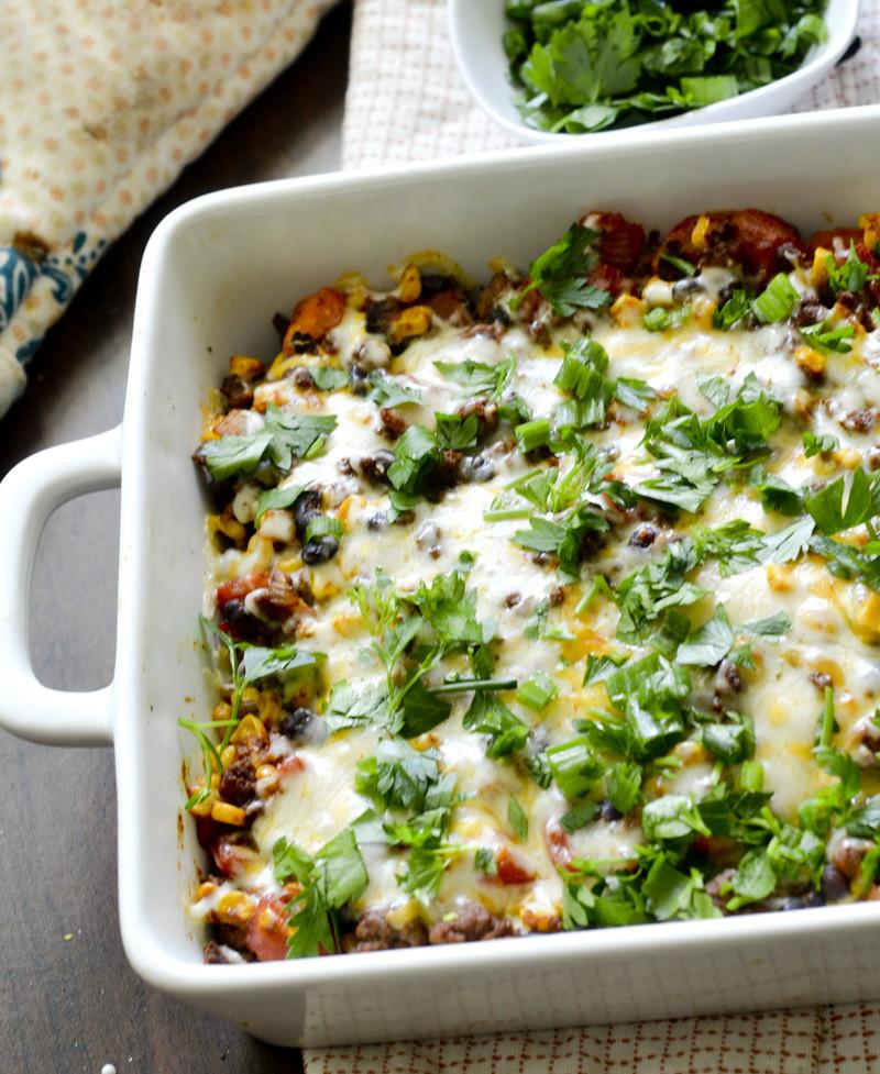 Healthy Chicken Casserole Recipes Weight Watchers  Weight Watcher's Mexican Casserole – Recipe Diaries