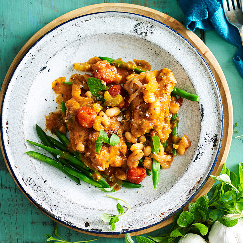 Healthy Chicken Casserole Recipes Weight Watchers  Sicilian chicken casserole Healthy Recipe