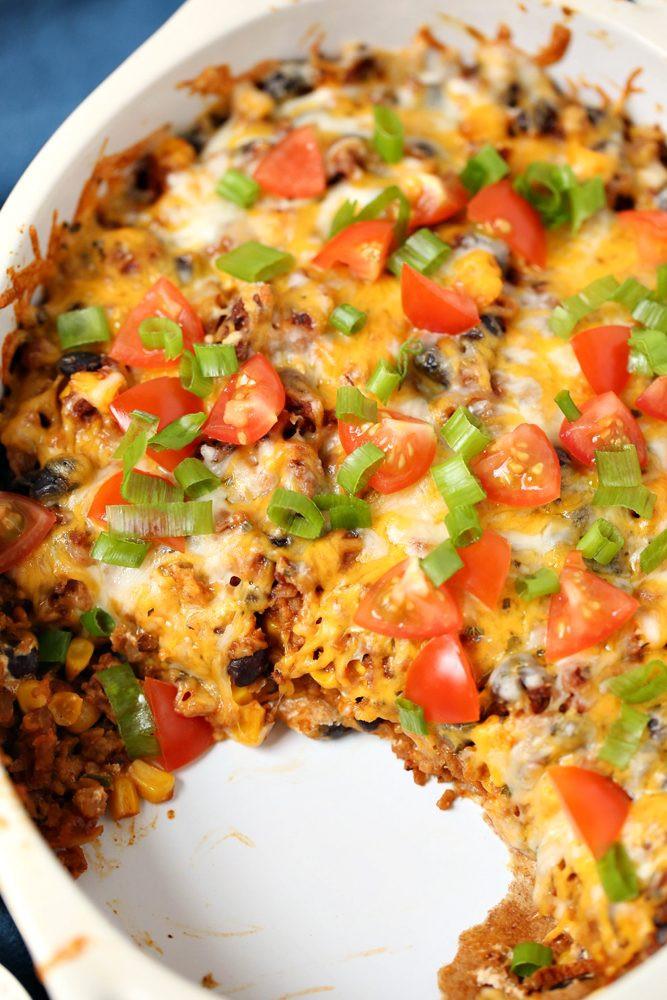 Healthy Chicken Casserole Recipes Weight Watchers  Weight Watchers Taco Casserole Recipe – 1 Smart Point