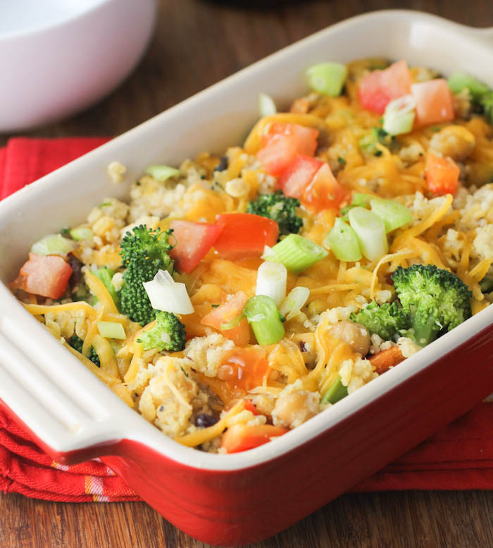 Healthy Chicken Casserole With Vegetables  healthy chicken and ve able casserole