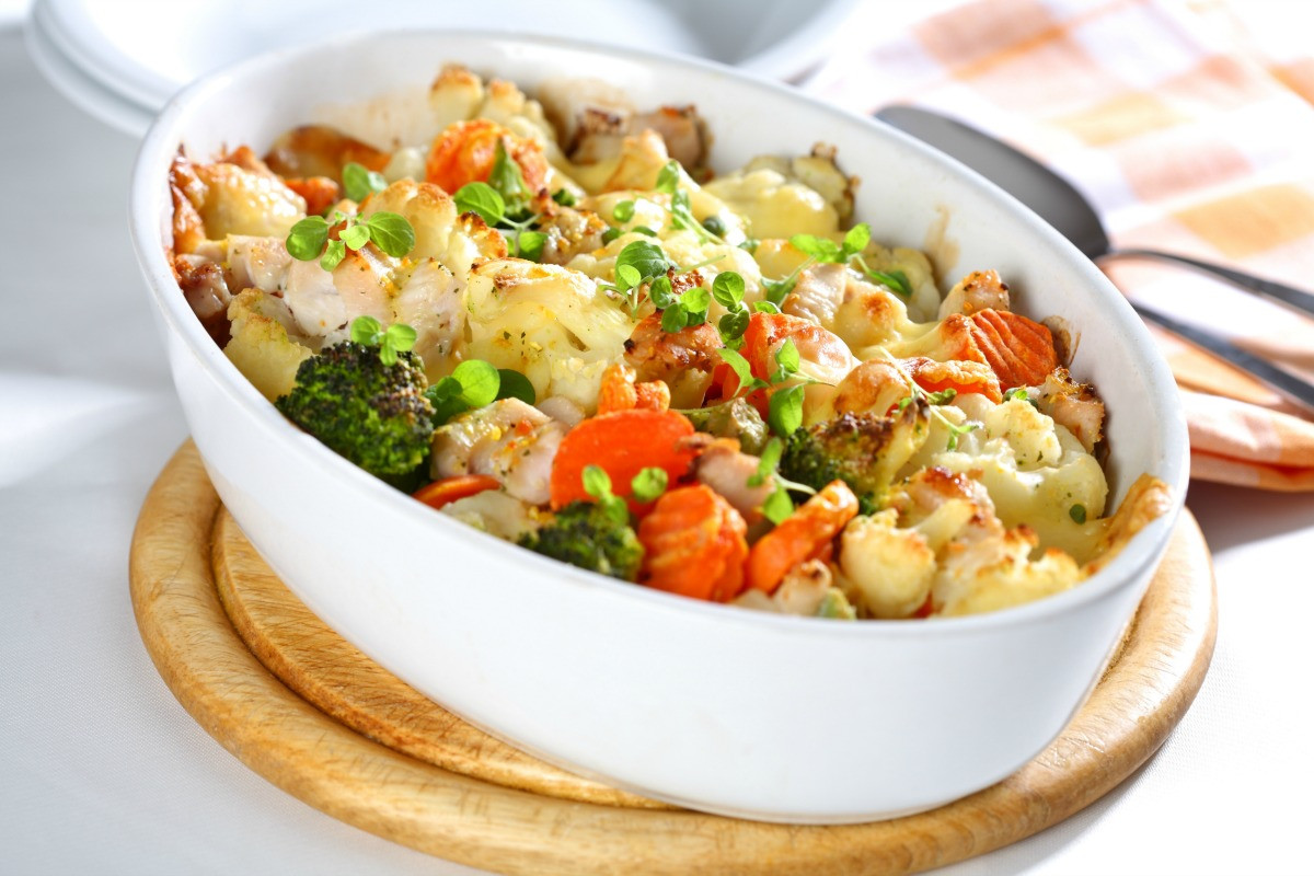 Healthy Chicken Casserole With Vegetables  Easy Ve able Chicken Casserole