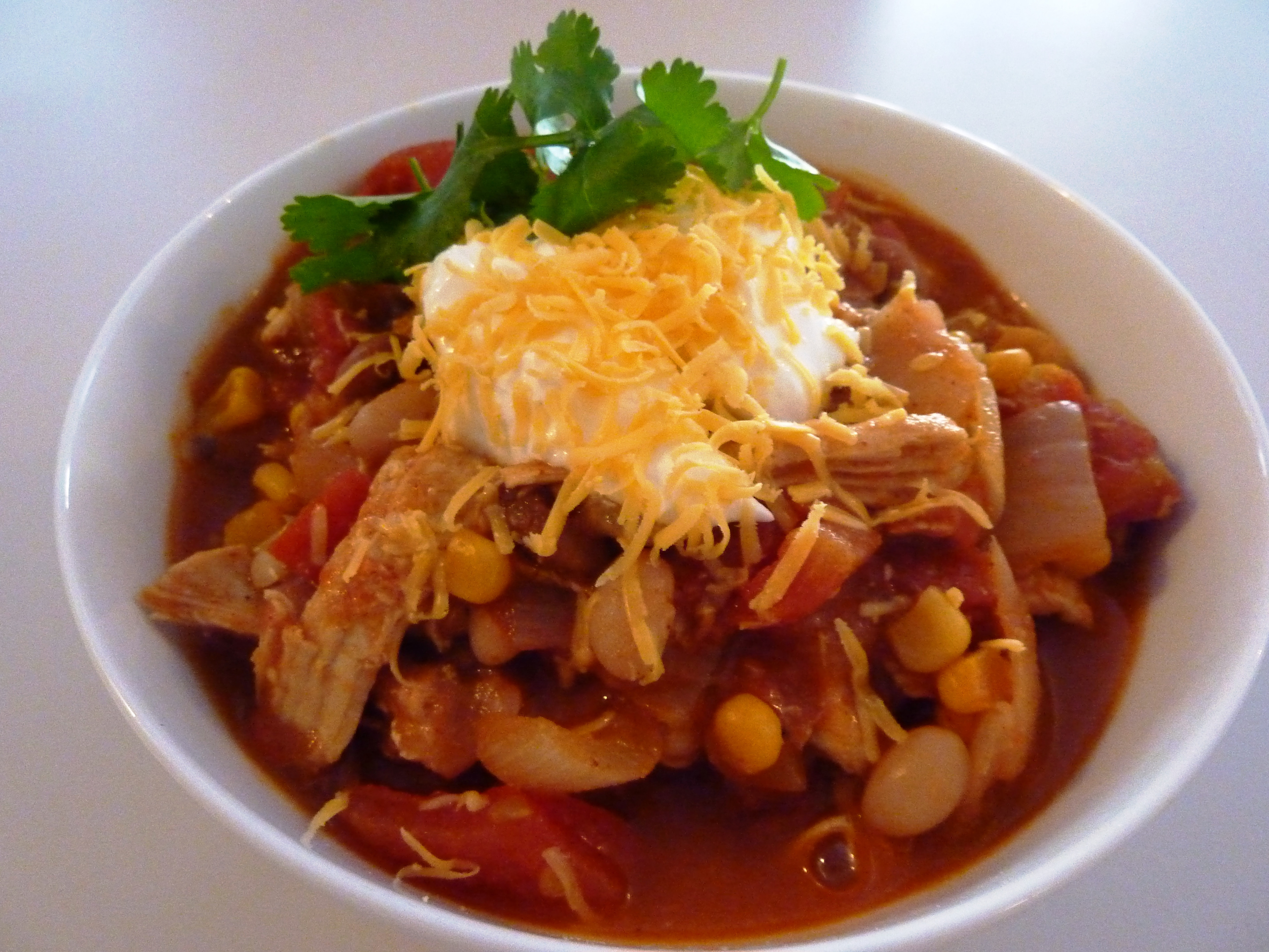 Healthy Chicken Chili  Chilly Weather Chicken Chili