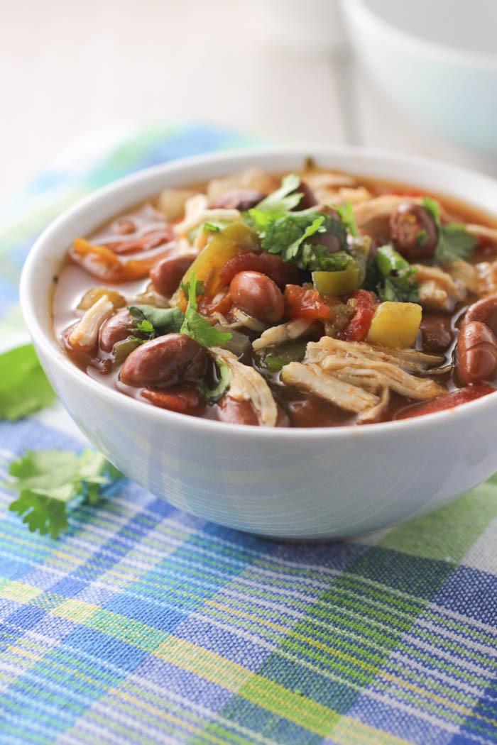 Healthy Chicken Chili Crock Pot  Crock Pot Chicken Chili citronlimette