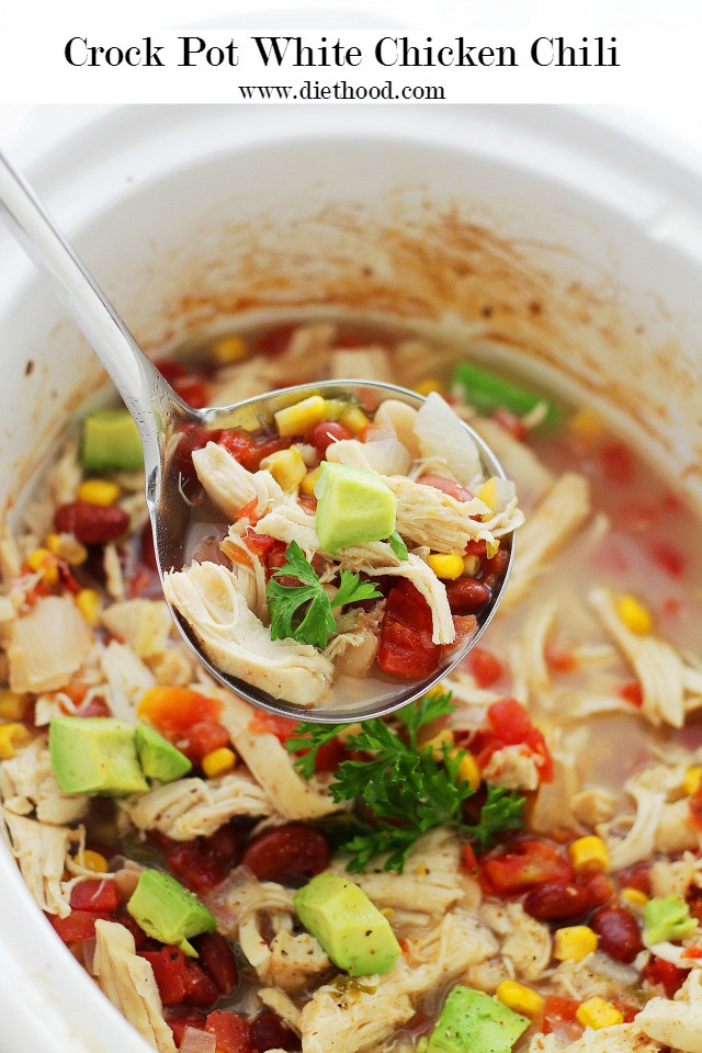 Healthy Chicken Chili Crock Pot the Best Ideas for Crock Pot White Chicken Chili Recipe