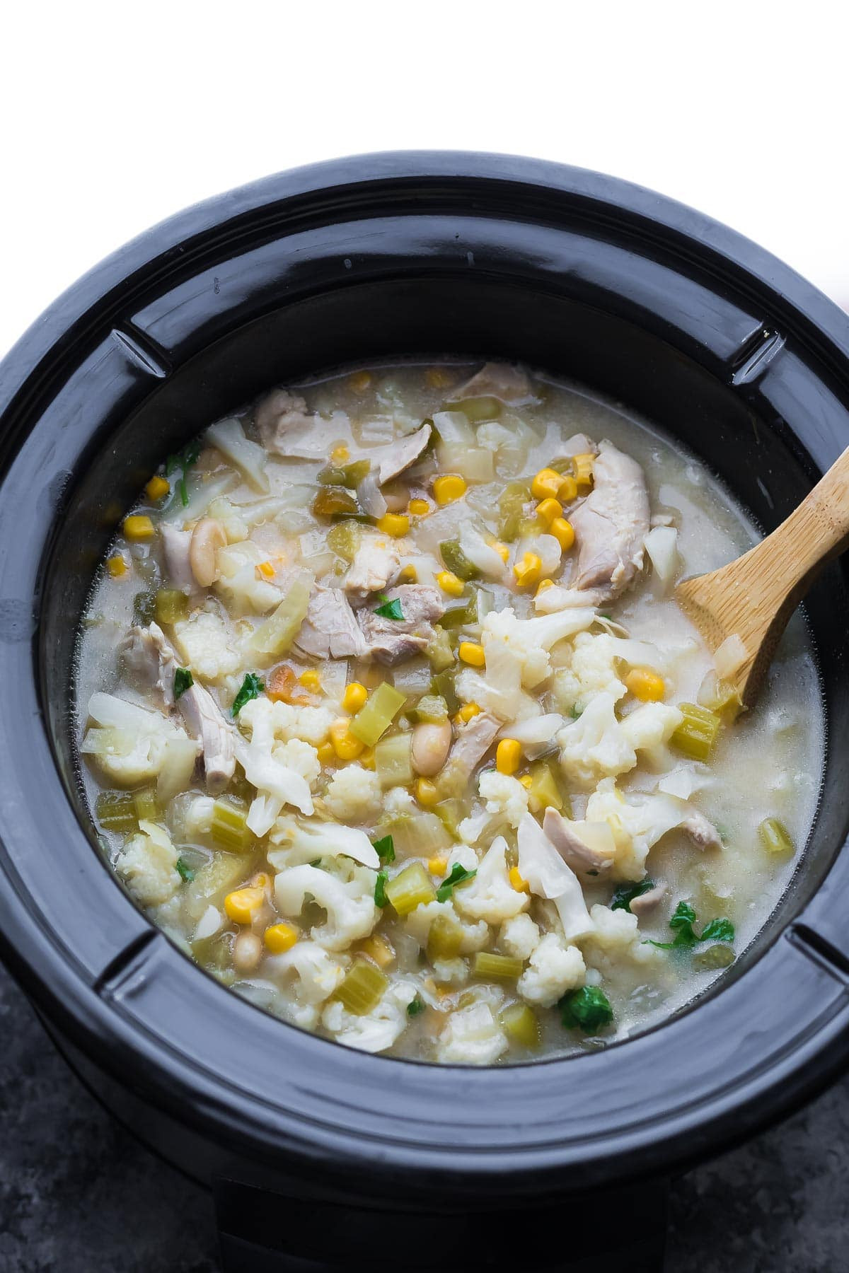 Healthy Chicken Chili Crock Pot  Healthy Slow Cooker White Chicken Chili Freezer to Crock