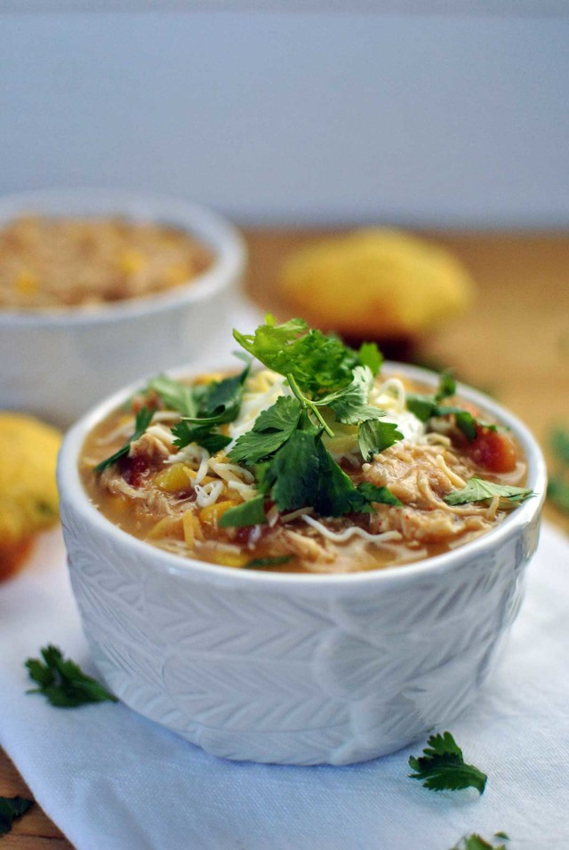 Healthy Chicken Chili Slow Cooker  Healthy Slow Cooker White Chicken Chili