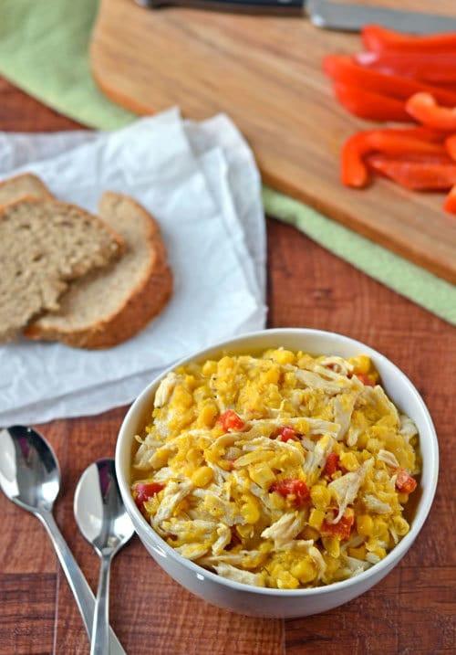Healthy Chicken Corn Chowder  Healthy Corn Chowder