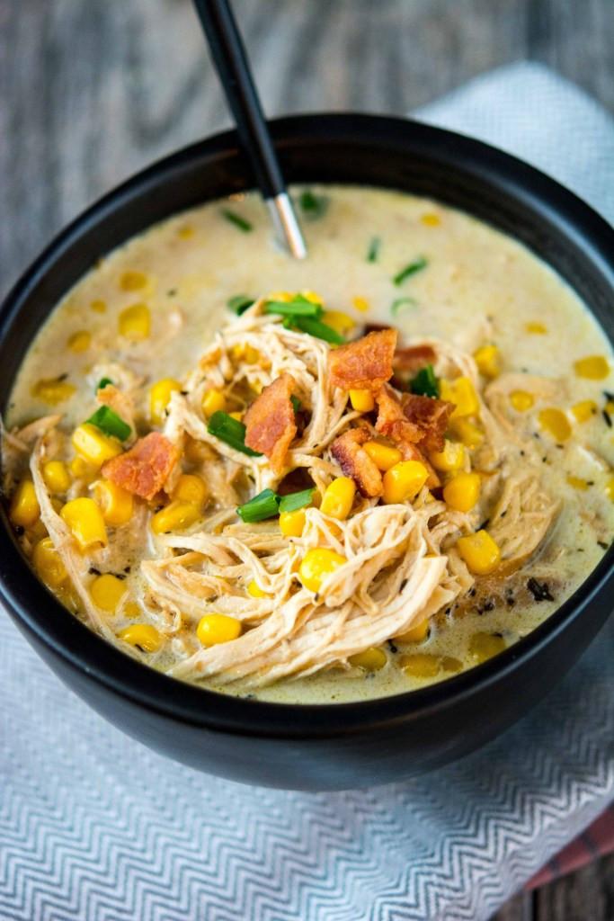 Healthy Chicken Corn Chowder  Slow Cooker Chicken and Corn Chowder Slow Cooker Gourmet