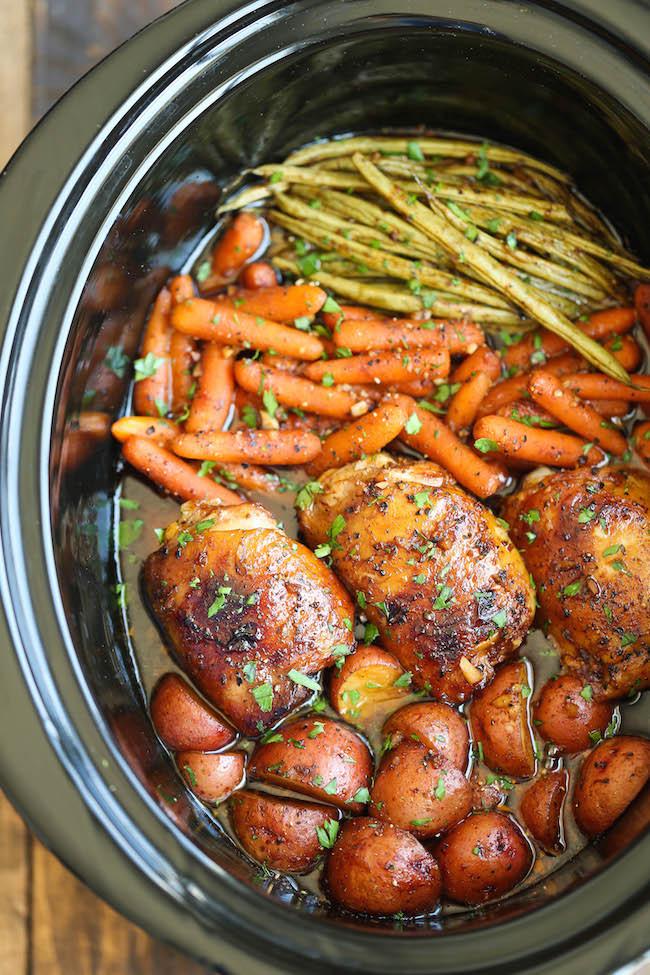 Healthy Chicken Crockpot Dinners  38 Tasty Crockpot Meals