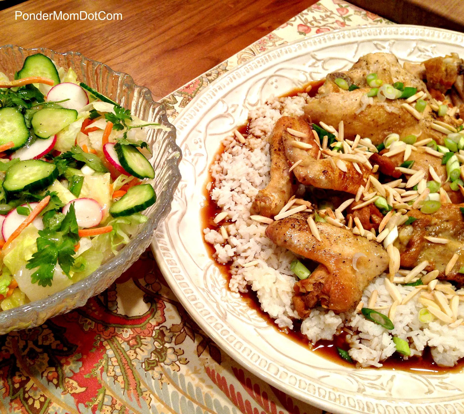 Healthy Chicken Crockpot Dinners  PonderMom Blog Archive Healthy Dinner 2 Asian