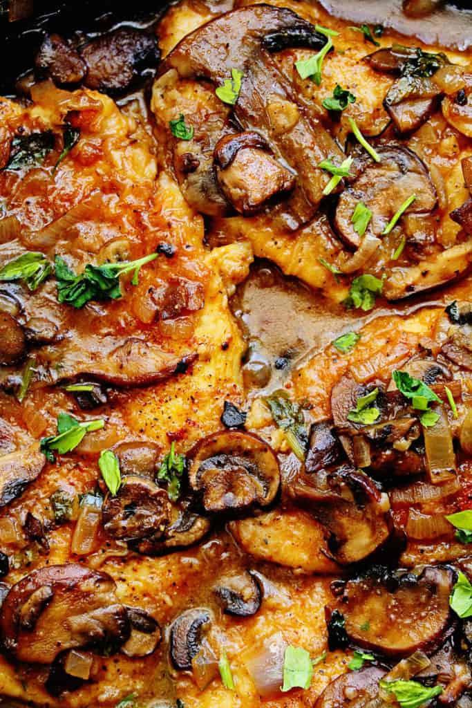 Healthy Chicken Dinner Recipes  Skinny Chicken Marsala Healthy Chicken Marsala
