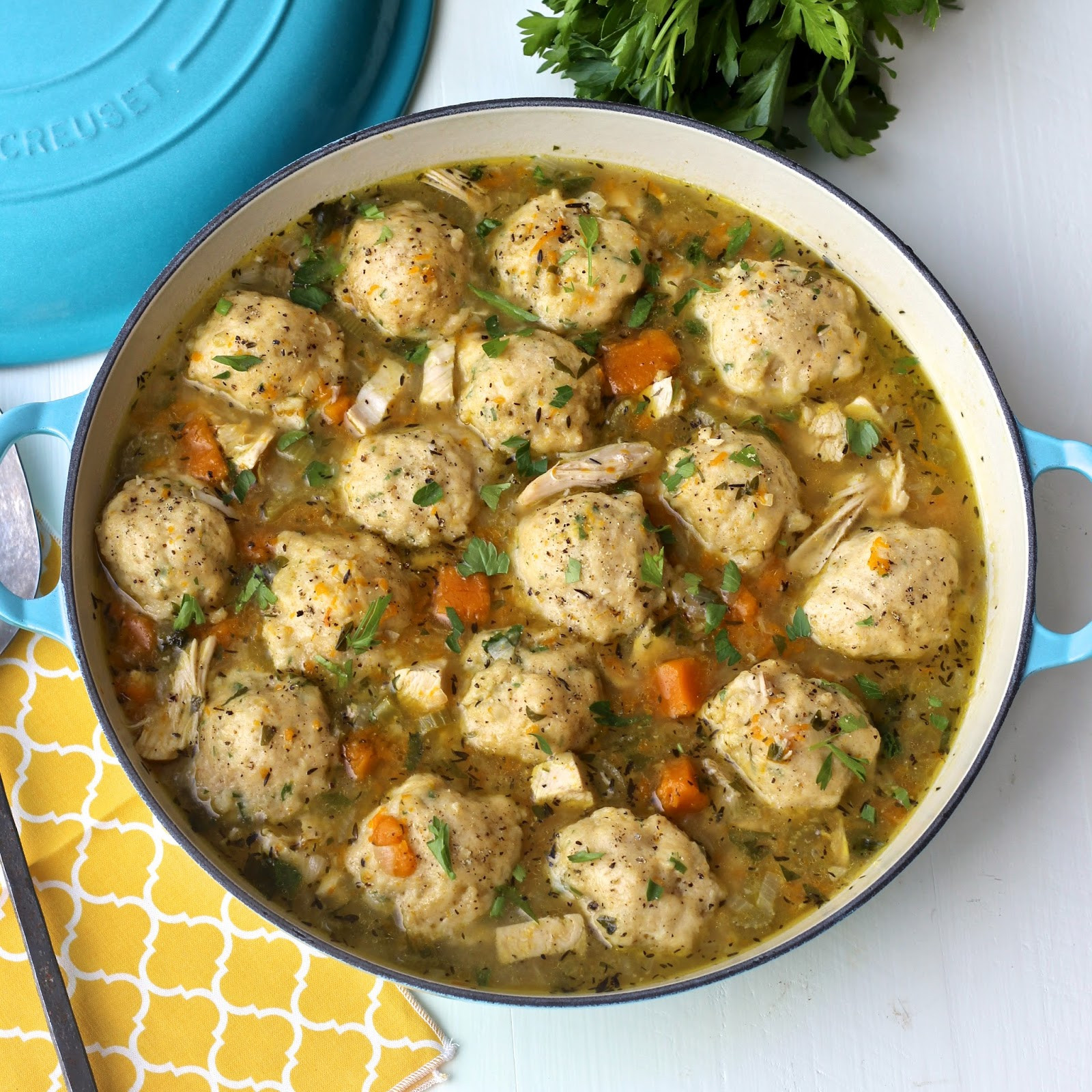 Healthy Chicken Dumplings  Recipe Resuscitation Chicken and Dumplings