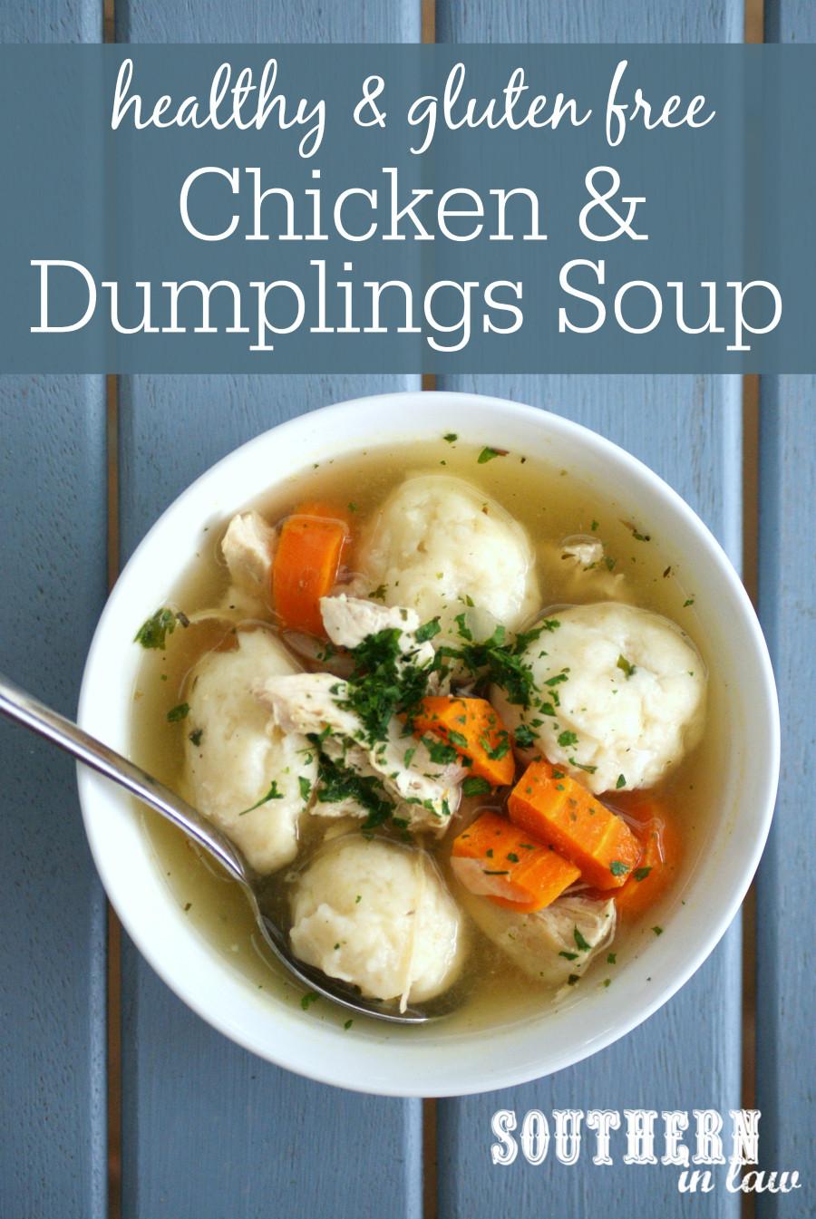 Healthy Chicken Dumplings  Southern In Law Recipe Healthy Chicken and Dumpling Soup