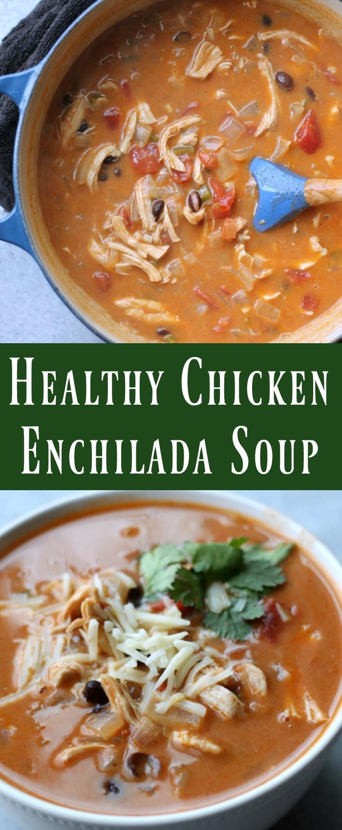 Healthy Chicken Enchilada soup Best 20 Healthy Chicken Enchilada soup organize Yourself Skinny