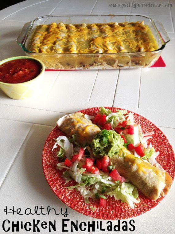 Healthy Chicken Enchiladas  Apple Cinnamon Crepes Recipe