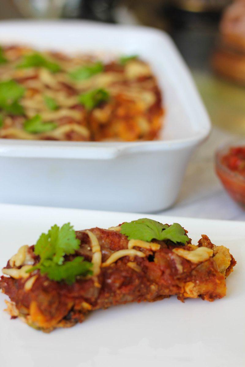 Healthy Chicken Enchiladas  Dairy Free Healthy Chicken Enchilada Recipe