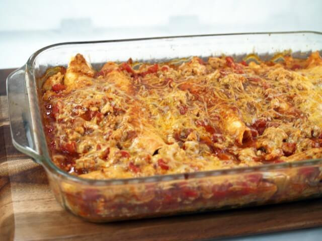 Healthy Chicken Enchiladas  Healthy Chicken Enchiladas Recipe