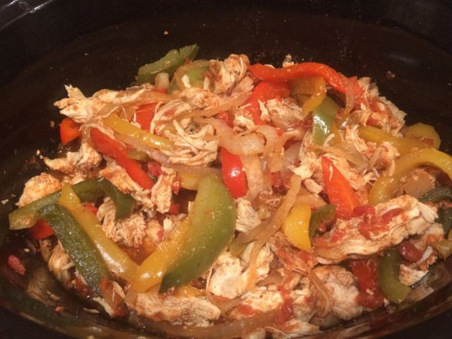 Healthy Chicken Fajita Casserole  21 Day Fix Crockpot Chicken Fajitas