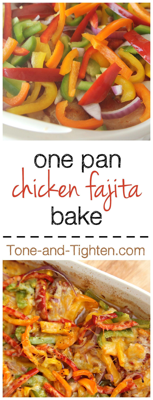 Healthy Chicken Fajita Casserole  Healthy Chicken Fajita Bake Recipe