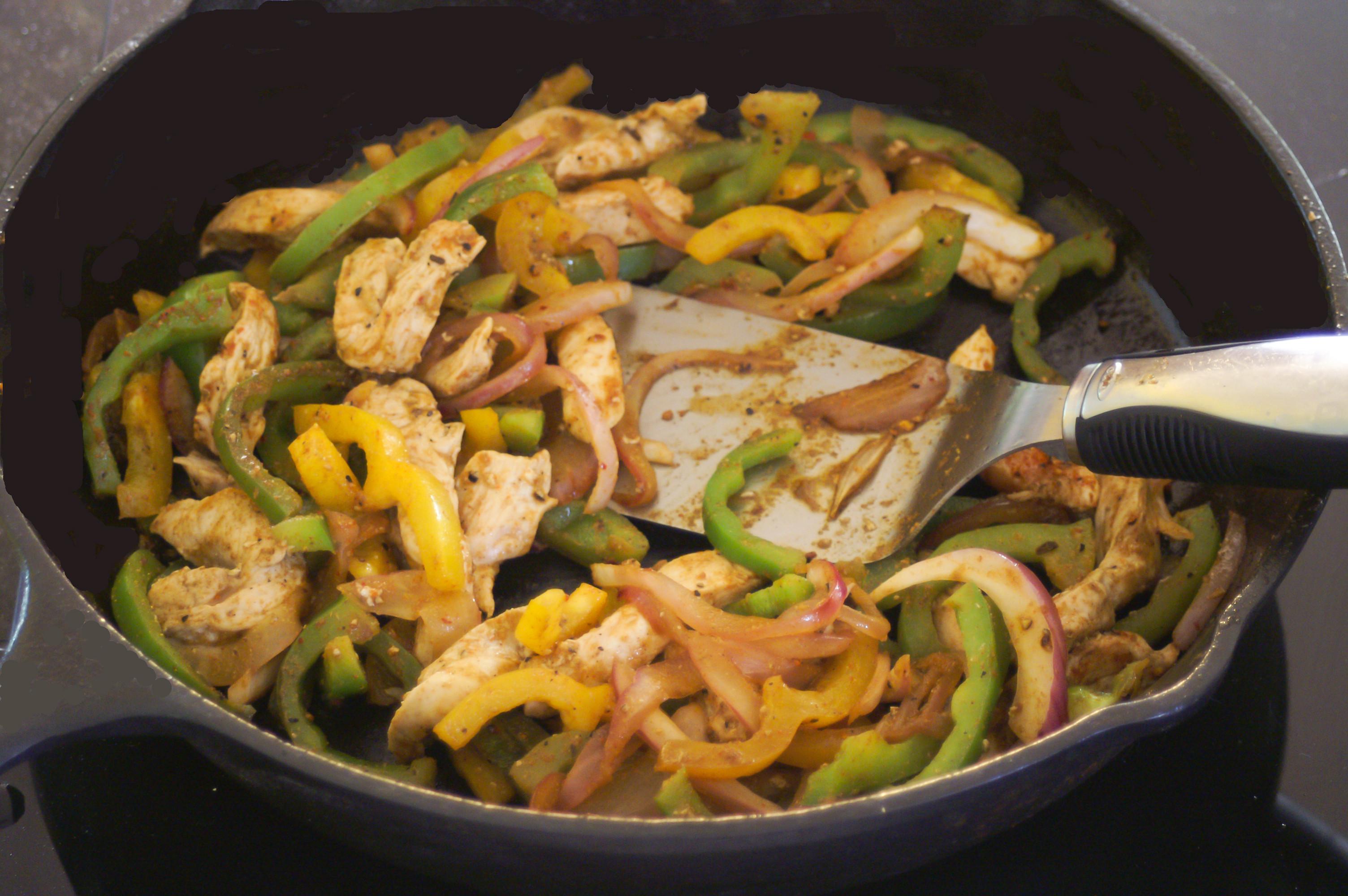 Healthy Chicken Fajitas  Chicken Fajitas