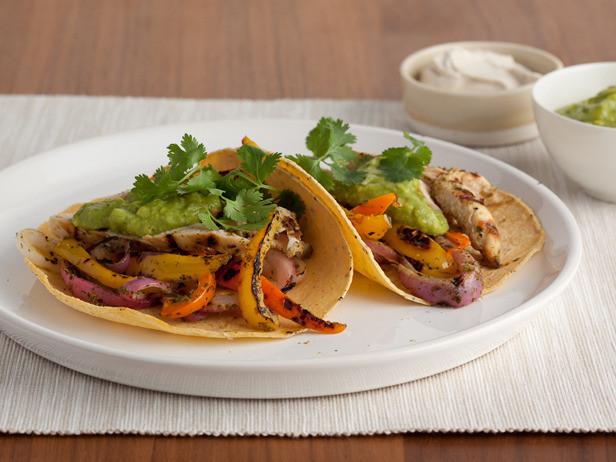 Healthy Chicken Fajitas  Chicken Fajitas Recipe — Dishmaps