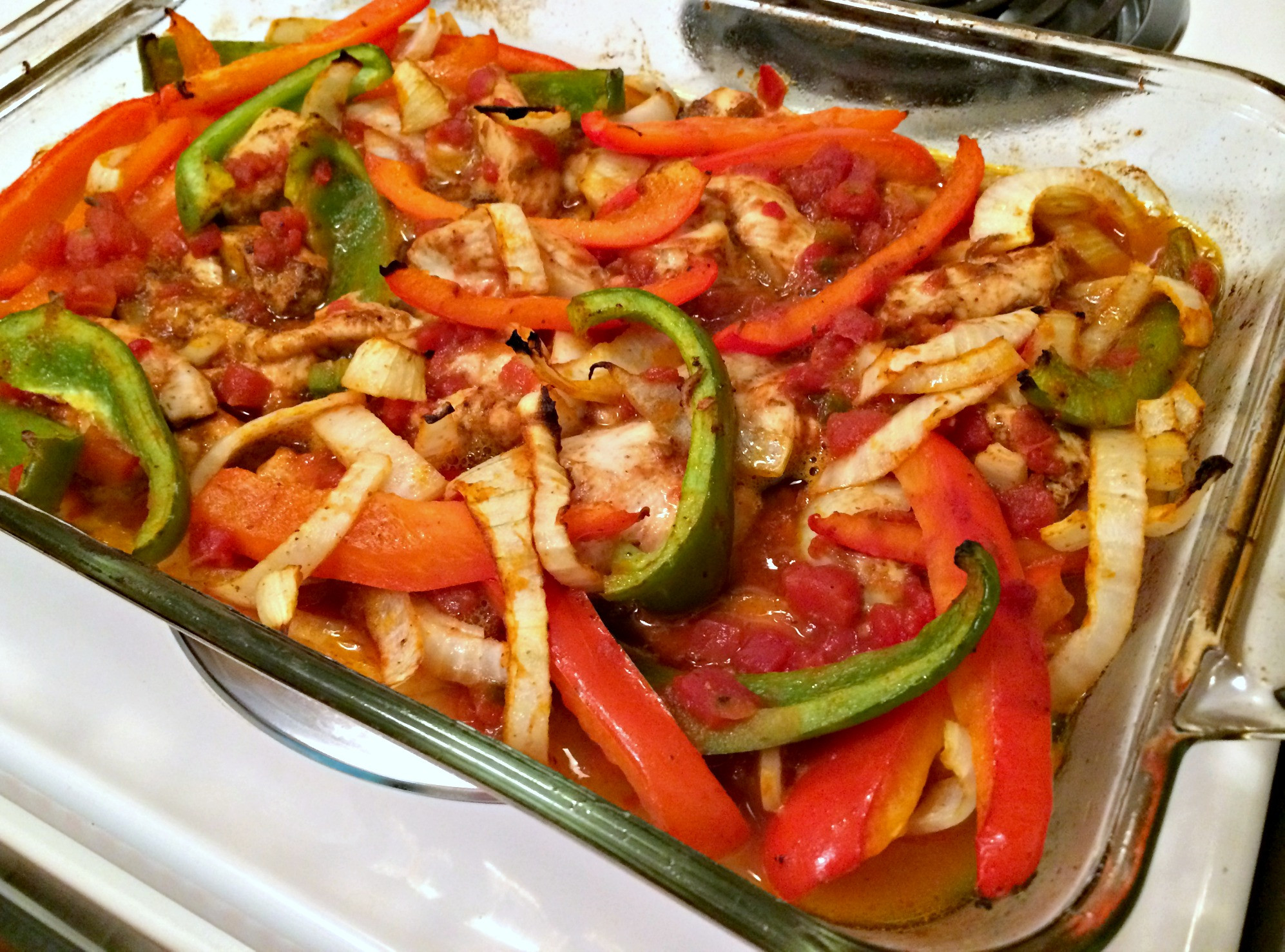 Healthy Chicken Fajitas  NBA NFL Dancer Auditions Food & Fitness Guide