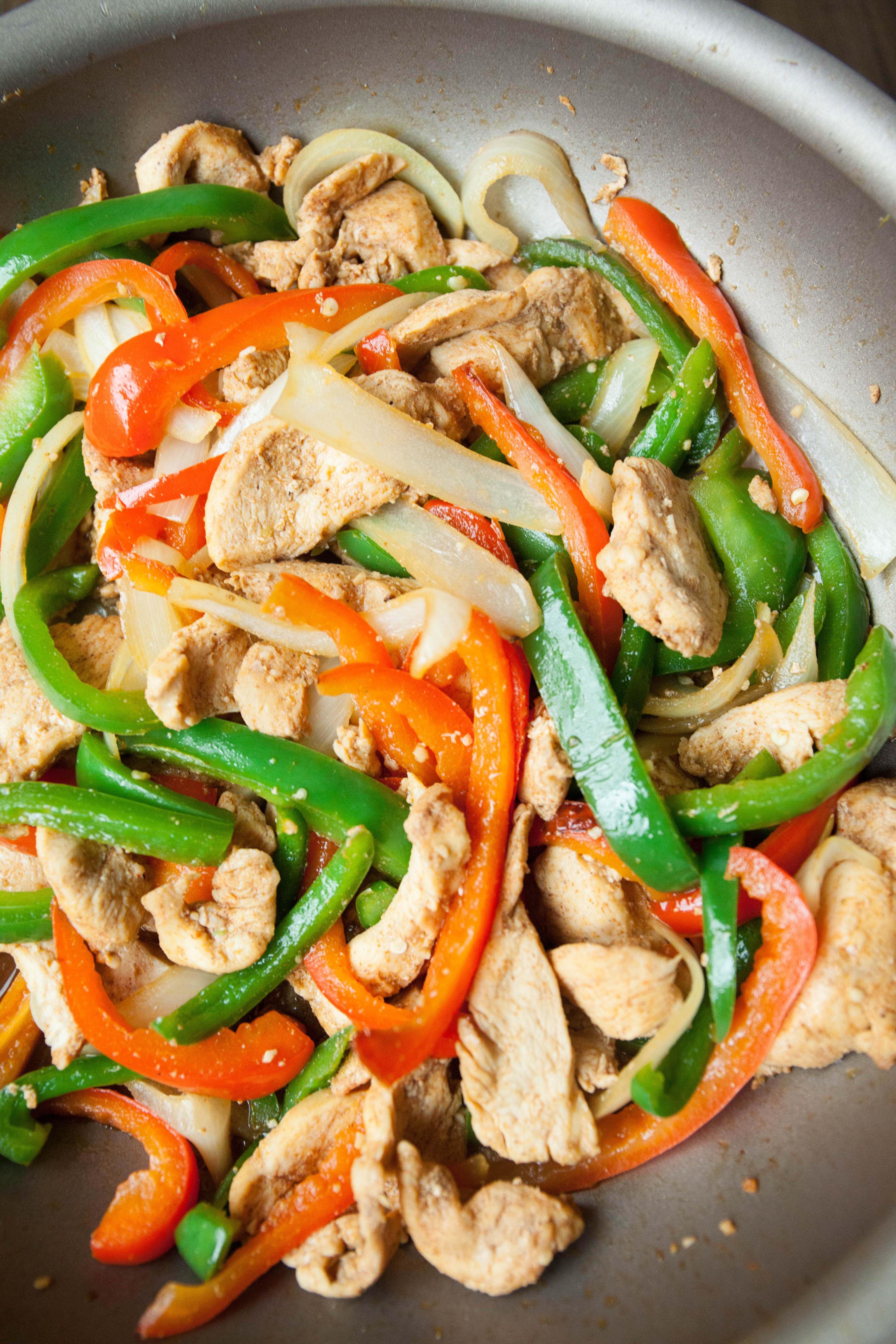 Healthy Chicken Fajitas  Chicken Fajitas Recipe — My Healthy Dish