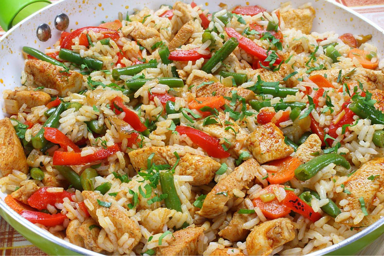 Healthy Chicken Fried Rice  Healthy Chicken Fried Rice Slender Kitchen