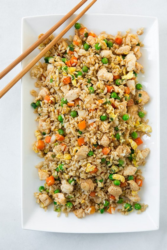 Healthy Chicken Fried Rice  Healthy e Pot Meals